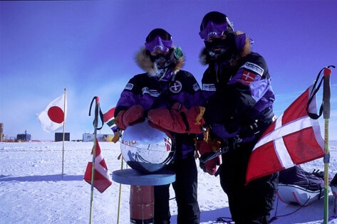 På ski til Sydpolen