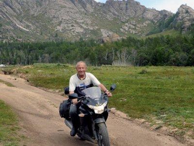 Sibirien og Mongoliet på motorcykel