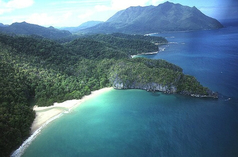 Ukendt ø-rige