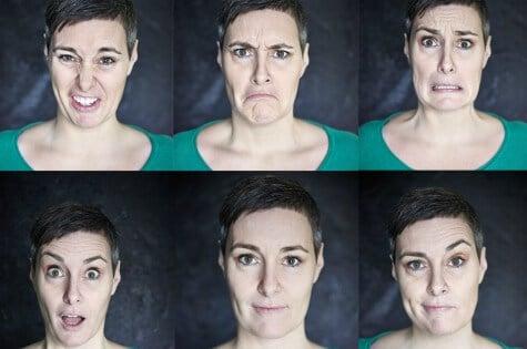 Foredrag om kroppens og ansigtets sprog